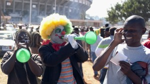 Not everyone is a fan of the vuvuzela. Photocredit: fifa.com